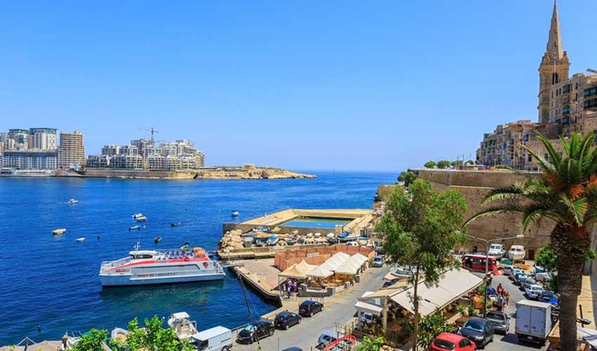 Croisière Fram passant par Malte, La Valette