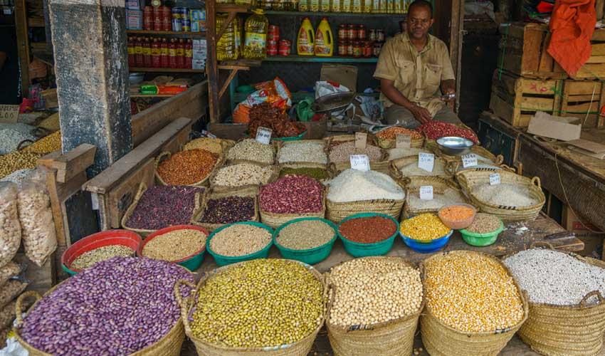 Framissima à Zanzibar : le marché