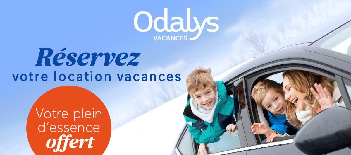 Odalys vous offre le plein d'essence de 75€