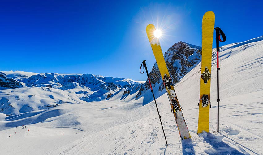 Faire du ski à Méribel Mottaret, Trois Vallées