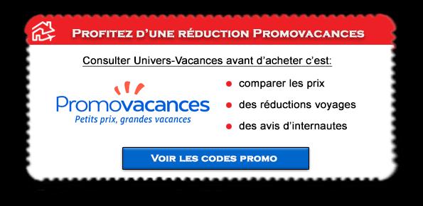 Code promo Promovacances