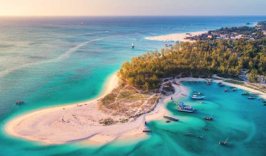 Fram, séjour à Zanzibar