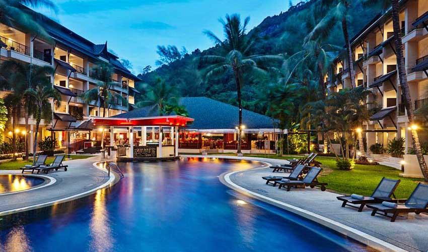 Architecture d'un Kappaclub en Thailande