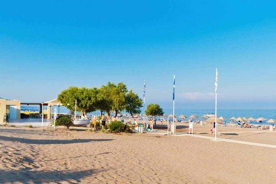 Heliades Blue Sea Beach Resort - Plage