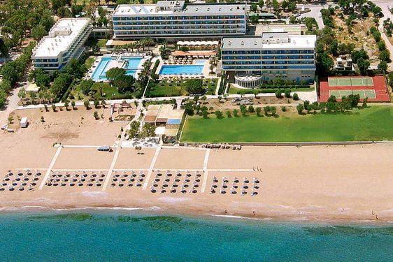 Heliades Blue Sea Beach Resort - Vue aérienne