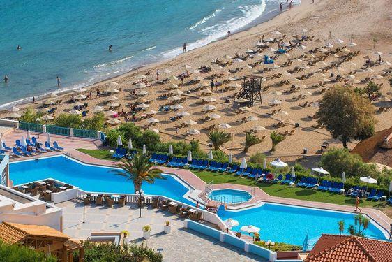 Héliades Fodélé Beach & Water Park - Vue aérienne