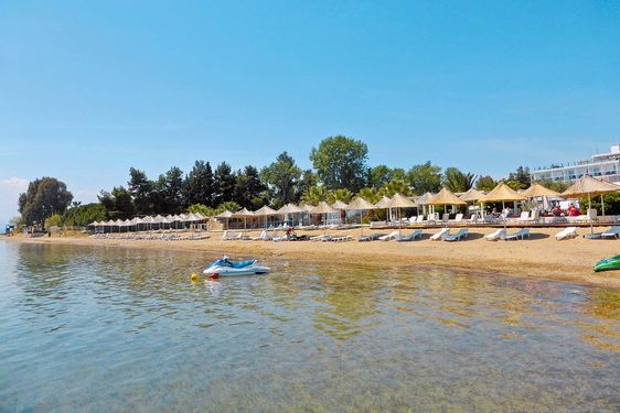 Heliades Grand Bleu Beach Resort - Plage