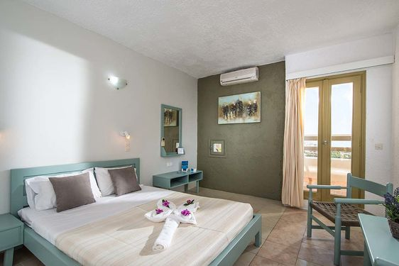 Heliades Scaleta Beach - Chambre
