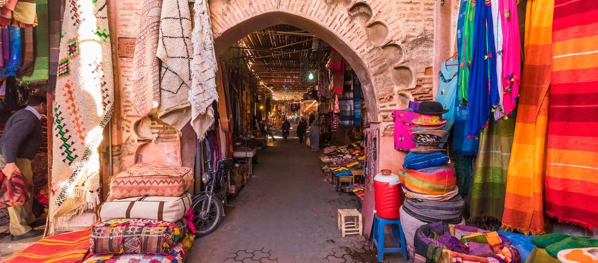 Visiter les Souk en club vacances à Marrakech