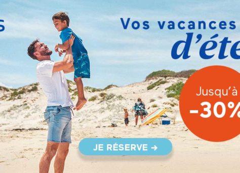 Réservez vos vacances d'été : jusqu'à -30% sur Odalys