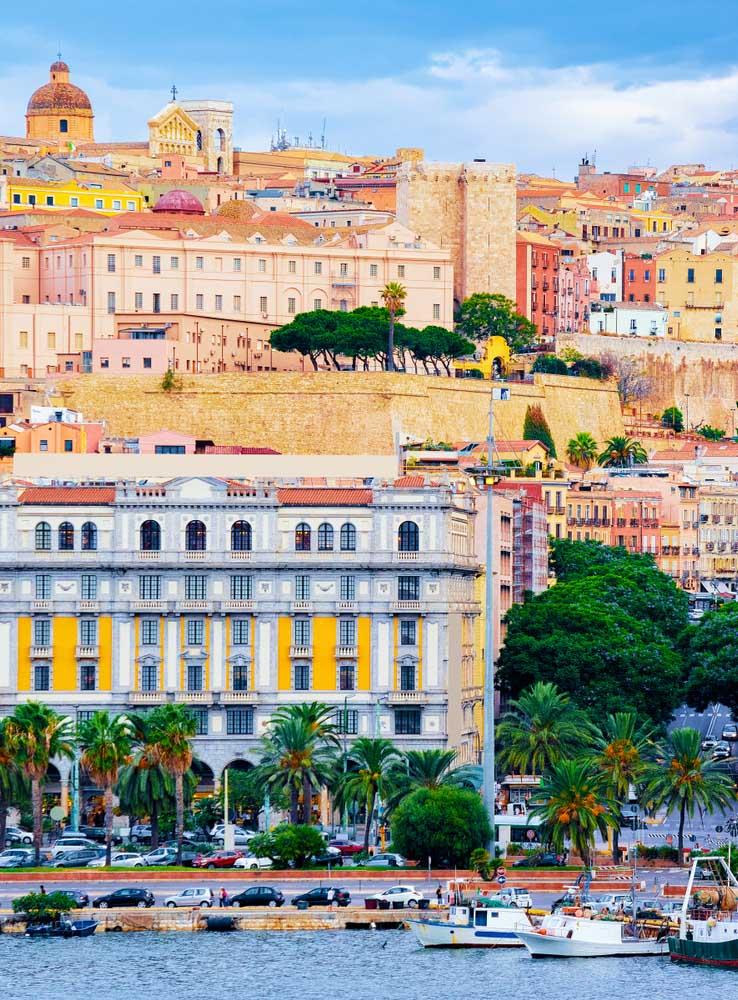 Cagliari en Sardaigne, Italie
