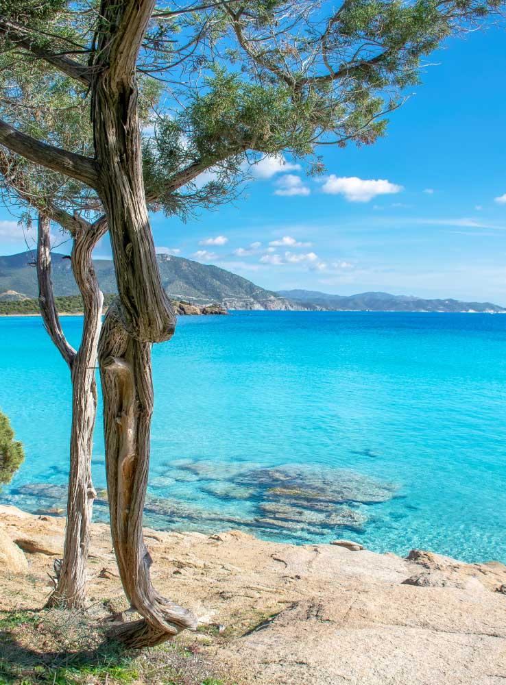 La mer en Sardaigne, Italie
