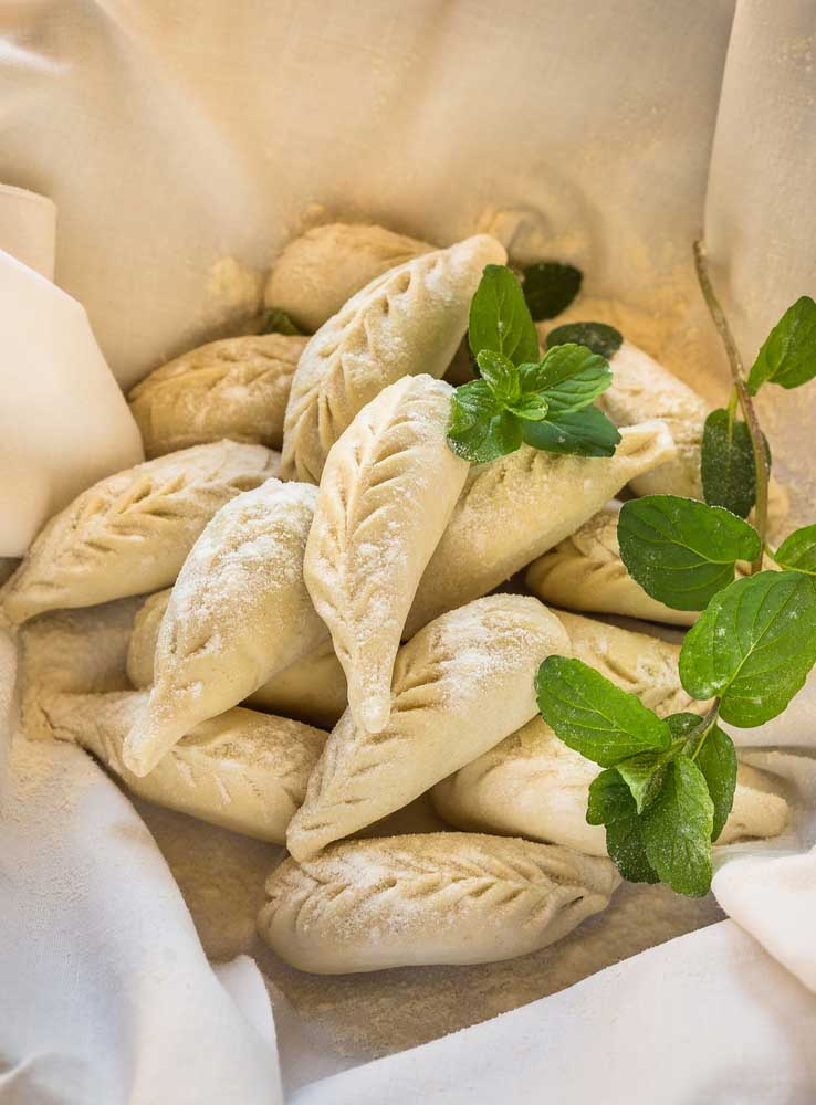 Pates, spécialité en Sardaigne