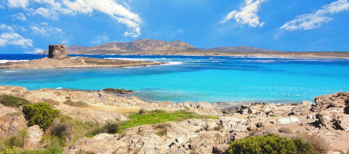 Sardaigne plage de Pelosa tour