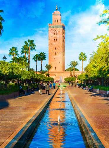 Visite de la Mosquée de Marrakech
