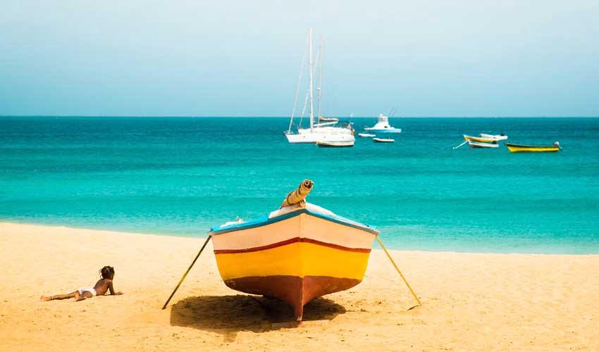 Avis Héliades : Cap-Vert paysage et plage
