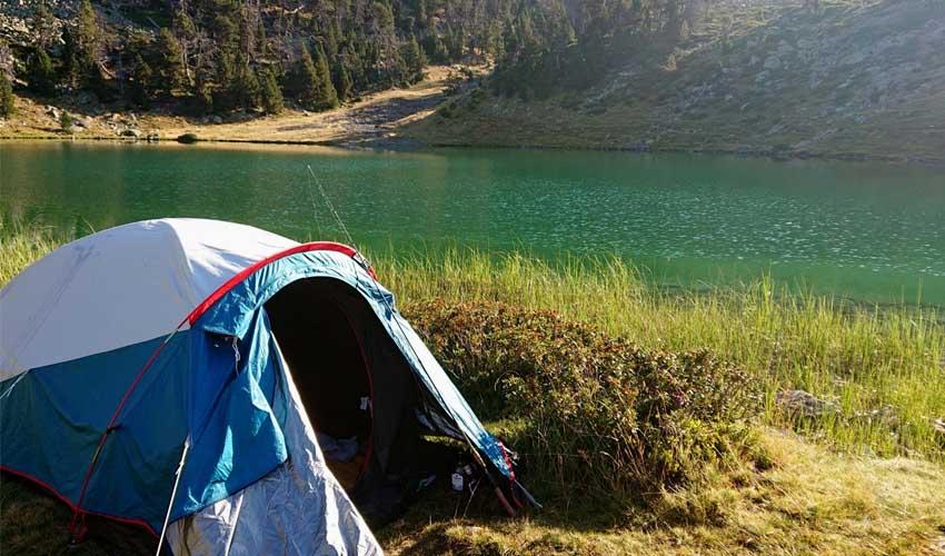 Camping dans une tente avec Promovacances