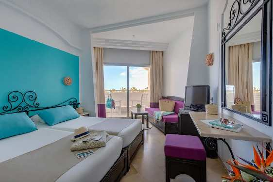Club Marmara Palm Beach Djerba : Chambres