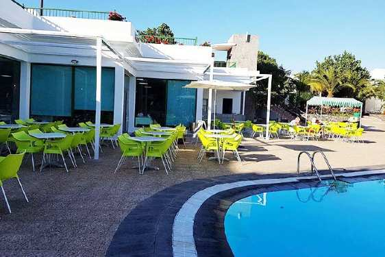 Club Marmara Playa Blanca : Restauration