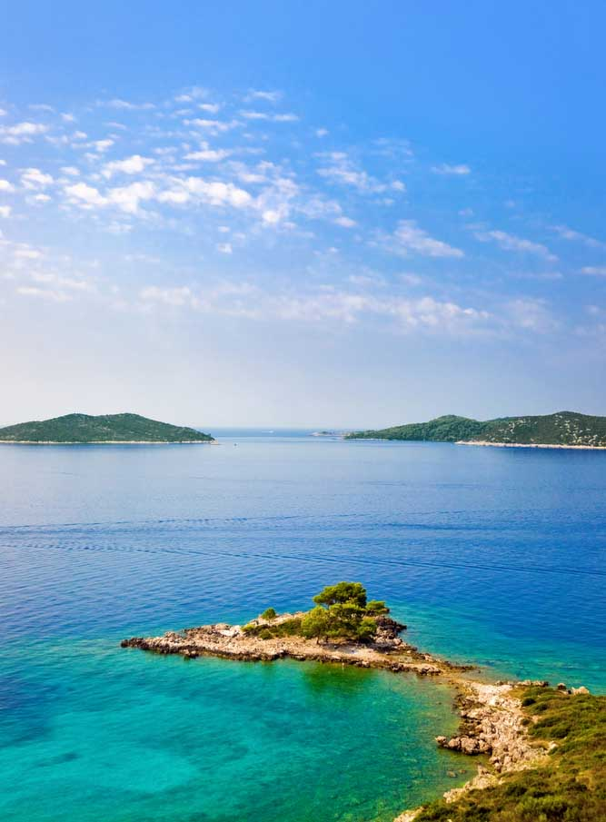 Mer adriatique à Lokrum, Dubrovnik