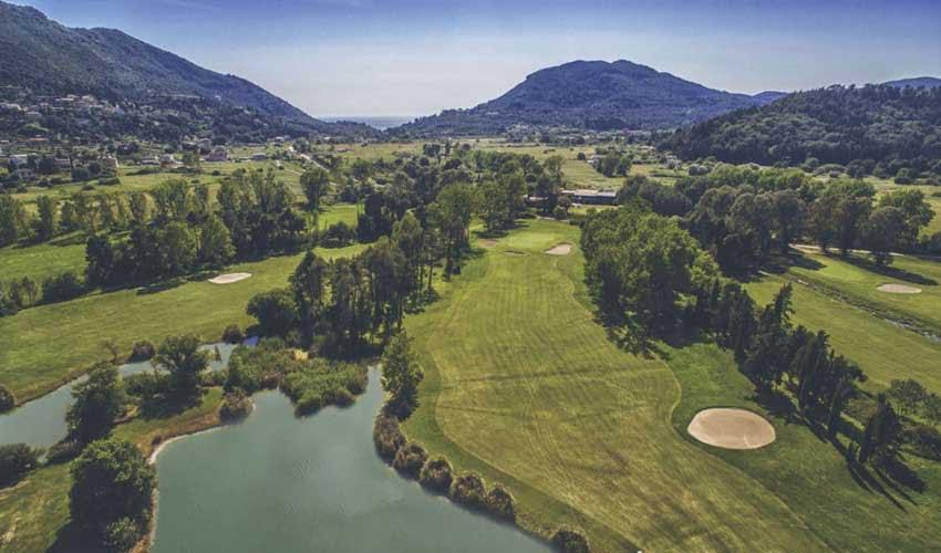Héliades : le Corfou Golf Club