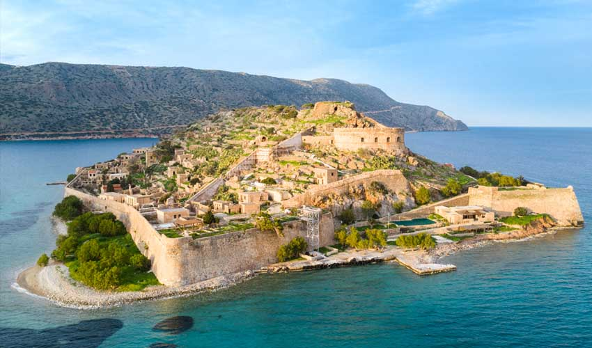 La Crète, Spinalonga avecc Héliades
