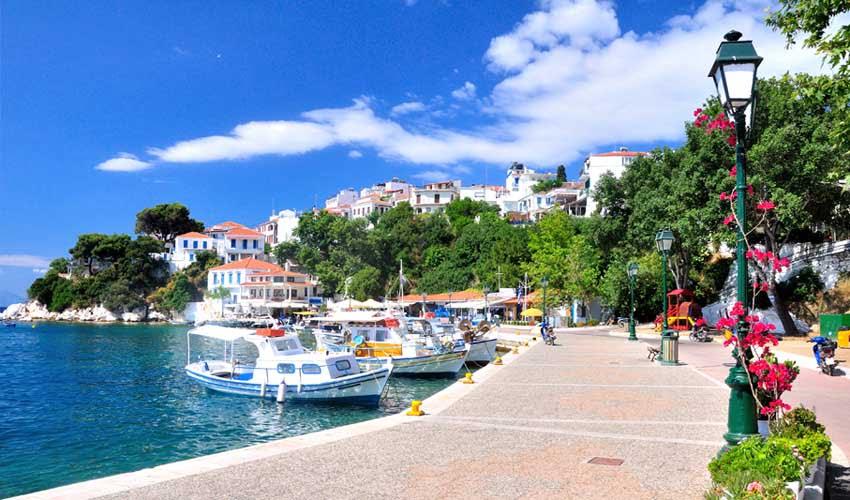 Périple Héliades en Grèce, îles Sporades