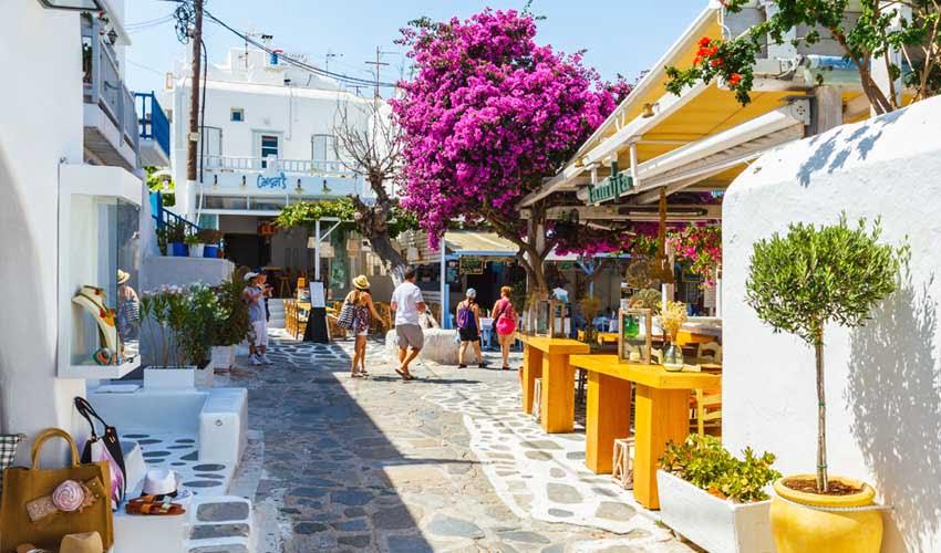 Périple Héliades en Grèce, Mykonos