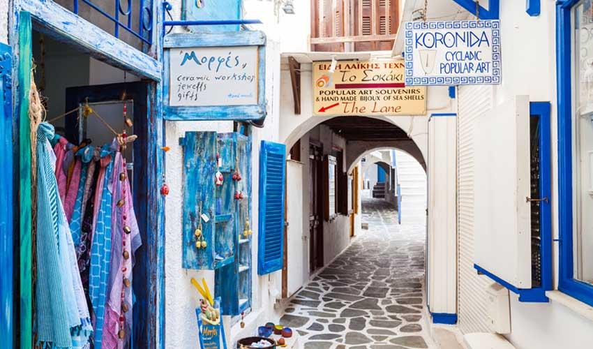 Périple Héliades à Naxos, Grèce