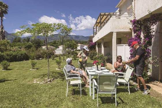 Club vacances Odalys-Vacances - Acqua Linda : jardin