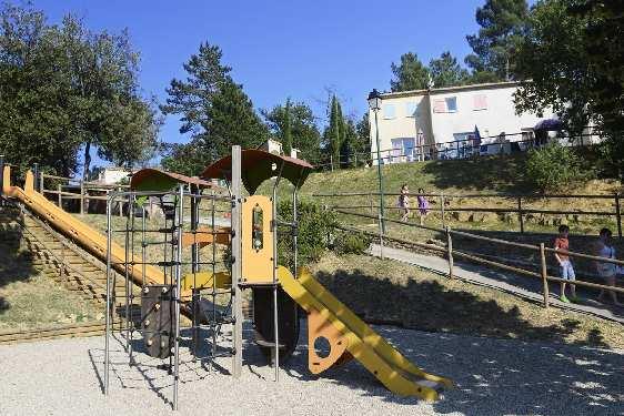 Club vacances Odalys-Vacances - Hauts de Salavas : espace enfants