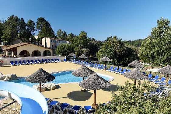 Club vacances Odalys-Vacances - Hauts de Salavas : piscine