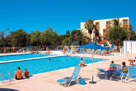 Club vacances Odalys-Vacances - L'Île d'Or : piscine