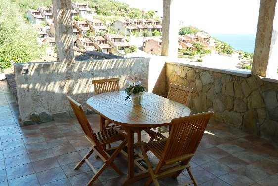 Club vacances Odalys-Vacances - Porto Corallo : terrasse