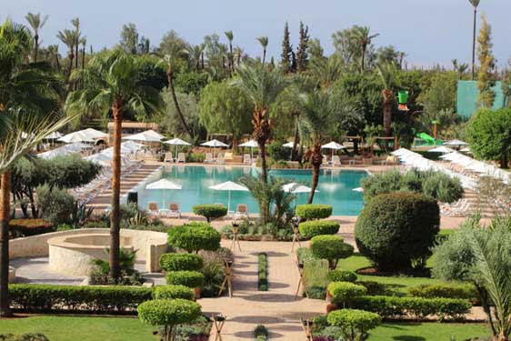 Kappa Club Iberostar Palmeraie Marrakech : Piscine