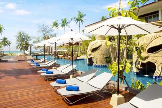 Kappa Club Thai Beach : Infrastructures