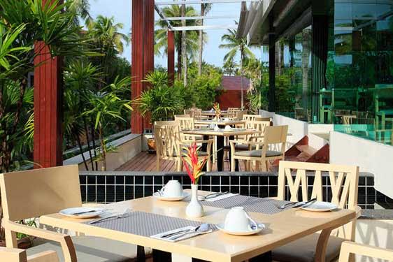 Kappa Club Thai Beach : Restauration