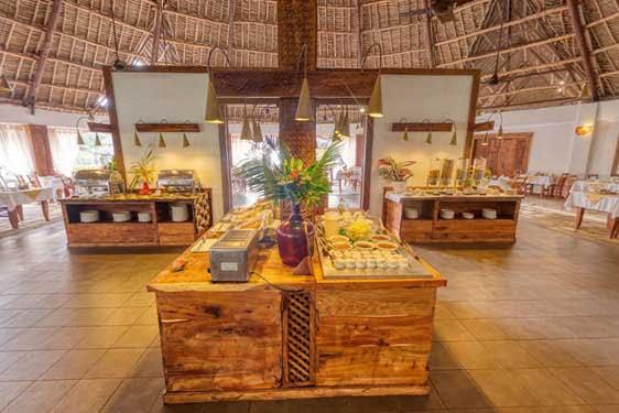 Kappa Club Zanzibar : Restauration