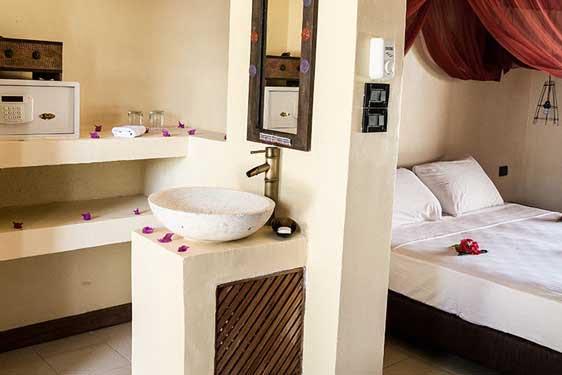 Kappa Club Zanzibar : Chambres