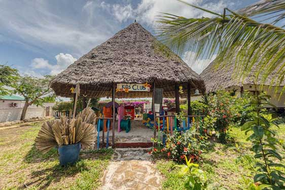 Kappa Club Zanzibar : Espaces enfants