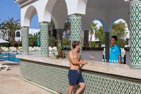 Club Marmara Les Jardins d'Agadir : Restauration