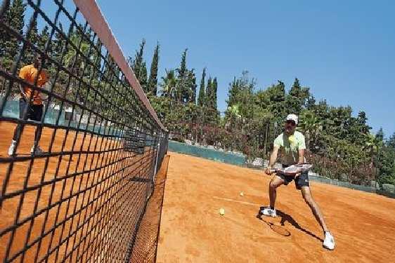 Club vacances Croatie - Île de Brac, Jet tours Kaktus : tennis
