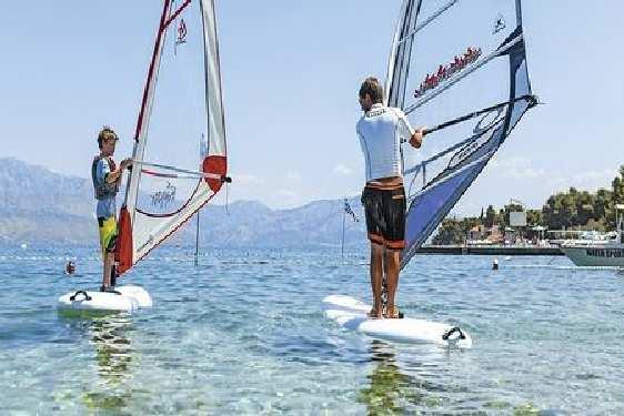 Club vacances Croatie - Île de Brac, Jet tours Kaktus : sport
