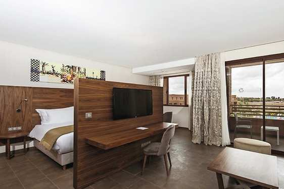 Club Jumbo Marrakech Palmeraie : Chambres