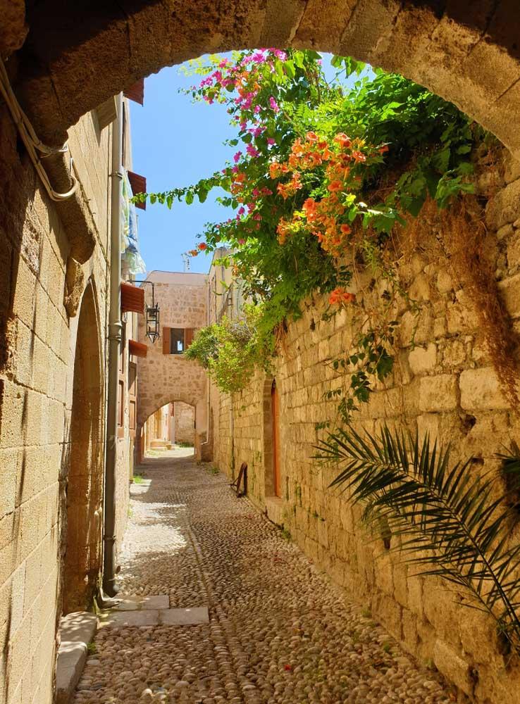 Rues de Rhodes, Grèce