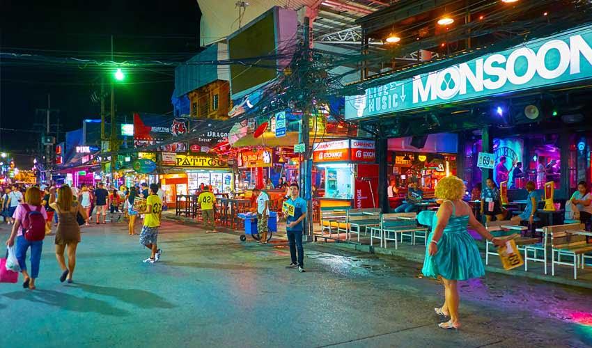Kappa Club à Phuket : ville animée depuis le Sunsuri Phuket