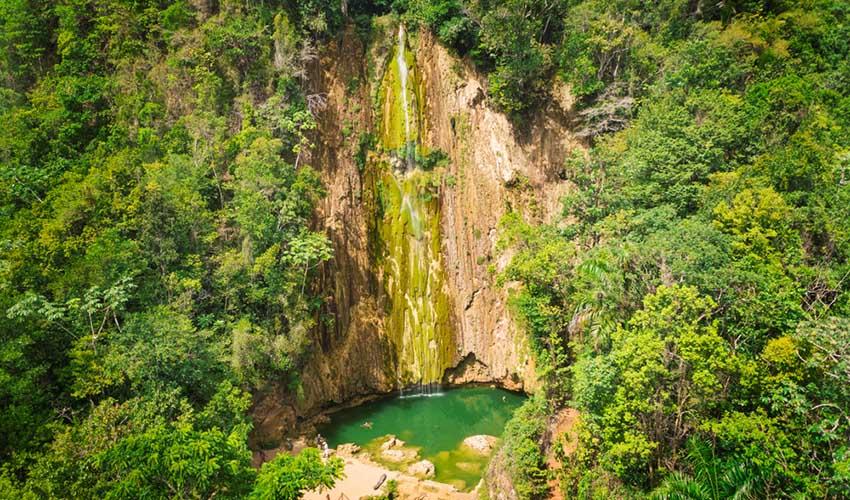 Punta Cana cascade El Limon