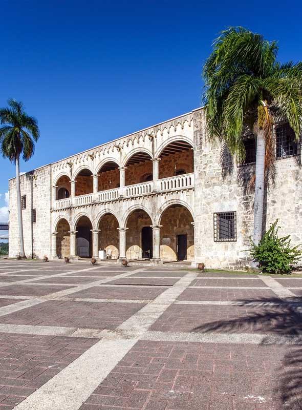 Punta Cana Saint-Domingue alcazar de Colón