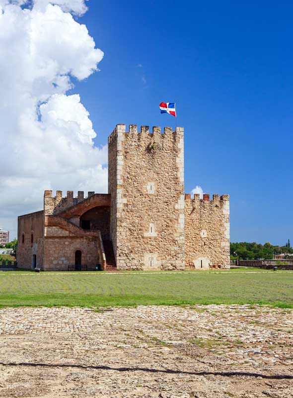 Punta Cana Saint-Domingue forteresse Ozama