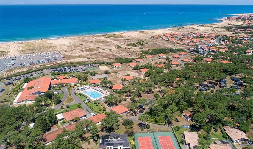 Belambra Club Sélection Les Vignes : plage à 200m